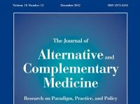 Journal of Alternative and Complementary Medicine: Research on Paradigm, Practice, and Policy